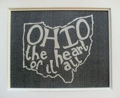 ohio the heart of it all. mandipidy.  http://www.etsy.com/listing/76607783/ohio-the-heart-of-it-all-place-i-love