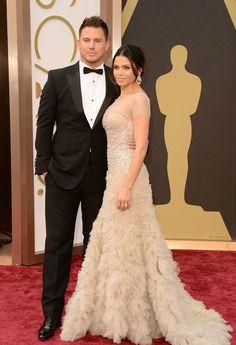 Channing Tatum and Jenna Dean-Tatum || 86th Annual Academy Awards Arrivals - March 2, 2014
