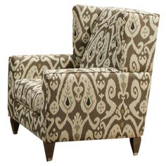 I pinned this Montgomery Ikat Arm Chair from the Sunroom Style event at Joss and Main!