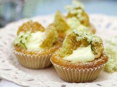 Rezept: Holunderblüten-Cupcakes
