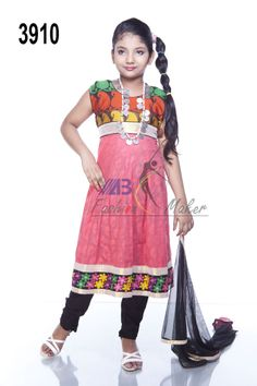 Style 3910 Embroidered cotton fabric and katan mixed.