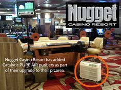 Improving Air Quality:  Nugget Casino Resort Leads the Way. More information at BetterAirToday.com.