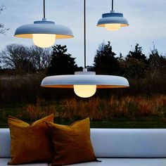 11 Front Porch Lighting Ideas - front porch lighting ideas The appropriate balustrade will not alone accomplish your neighbors jealous, but Outdoor Pendant Lighting, Dining Lighting, Backyard Lighting, Led Pendant Lights, Outdoor Light Fixtures, Porch Lighting, Pendant Lamps, Pendants, Outdoor Porch Lights