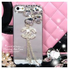 iPhone 5 Case iPhone 4/4s Case Bling iPhone Case, Crystal iPhone Case,... ($19) ❤ liked on Polyvore