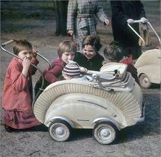 Poster DDR - Kinder in Leipzig 1959