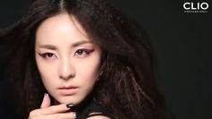 """2NE1's Sandara Transforms into a """"Bloody Devil"""" for CLIO"""