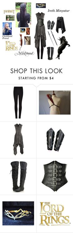 """""""Me In Lord Of The Rings (elf)"""" by kristina-shadowheart ❤ liked on Polyvore featuring Winser London, Greenleaf, S.W.O.R.D. and Todd Lynn"""