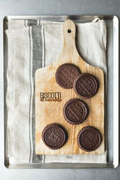 Biscotti al doppio cioccolato con Pasta Frolla al cacao