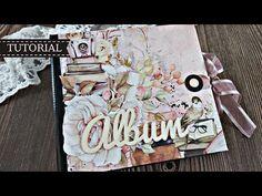 """Διπλό μίνι άλμπουμ """"Dear diary""""   Tutorial   Μαρίνα Μανιώτη - YouTube Big Big, Dear Diary, Albums, Youtube, The Creator, Give It To Me, Video Tutorials, Scrapbooking, Mini Albums"""