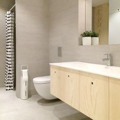 kryssfiner bad - plywood bathroom