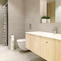 kryssfiner bad - plywood bathroom