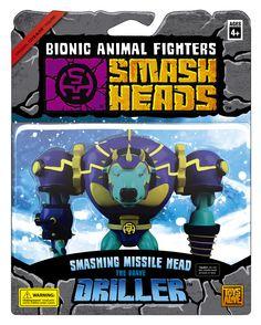 """Smash Heads toybox """"Driller"""""""
