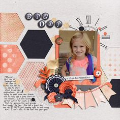 Good Ol Days by Libby Pritchett Template by Le Pingouin Designs