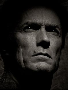 Clint Eastwood by Albert Watson Clint. Always a favorite. Clint And Scott Eastwood, Actor Clint Eastwood, Photo Portrait, Portrait Photography, Tv Star, Sean Connery, Black And White Portraits, Film Director, Famous Faces