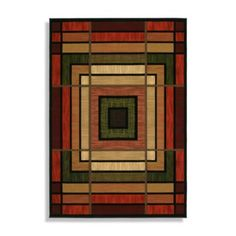 The Ambiance Scatter Accent Rug from United Weavers features a geometric pattern in rich, bold colors to offer any room a simple, yet stylish motif. Machine made, this floor covering features hand carved details for outstanding design definition. Modern Colors, Bold Colors, Contemporary Area Rugs, Rectangular Rugs, Geometric Rug, Modern Spaces, Accent Rugs, Outdoor Rugs, Patio Rugs