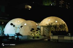 Event Domes and Tents - Geodesic Tradeshow Structures - Festival Branding Displays