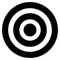 Target concentric circles symbol free vector icons designed by Freepik Reggae On The River, Vector Icons, Vector Free, Circle Symbol, Black And White Lines, Icon Font, Symbols, Glyphs, Icons