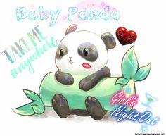 Cutest Panda Background EVERRRRRR !!!!