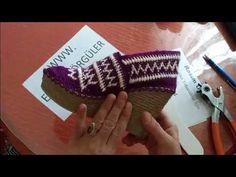 Kilim Desenli Ayakkabı  Modeli