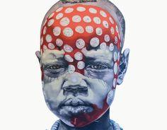 Keeper of the future, by Robert Slingsby, 2013 Famous Black Artists, Kunst Online, South African Artists, Africa Art, Shadow Art, Museum, Portrait Art, Portraits, Figurative Art
