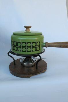 Retro fondue kjele