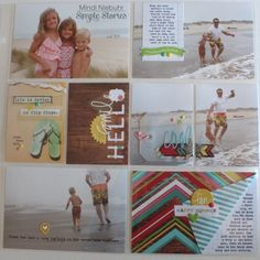 Pocket Page layout created by Mindi Niebuhr