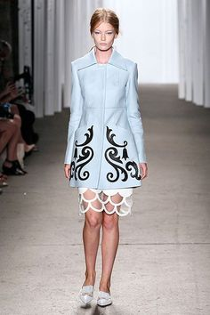 The 14 Need-To-Know Trends Of 2015 #refinery29  http://www.refinery29.com/2014/09/74344/fashion-week-trends-spring-2015-runway-shows#slide-38  Honor