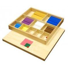 Table de Pythagore sensorielle | Matériel Montessori | Tangram Montessori
