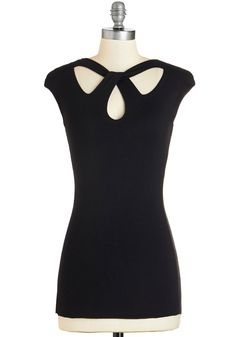 Cheers Hoping Top. Toast to a merry future with friends in this black top! #black #modcloth