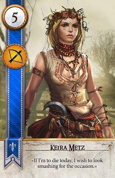 Keira Metz (Gwent Card) - The Witcher 3: Wild Hunt