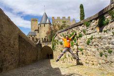 Las calles, las murallas, las torres, el castillo... estar en Carcasona era un…