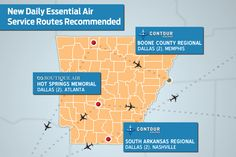 3 Arkansas Airports Await Approval of New Airline Contracts - Arkansas Business Online