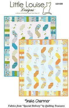 Snake Charmer Quilt Pattern Little Louise Designs #LLD-020
