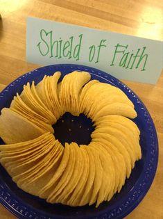 armor of god snack   Armor of God Boys' Retreat