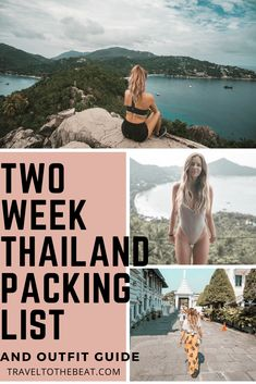 Two Week thailand travel itinerary and outfit guide #thailand #itinerary #bangkok #traveltips #travelblog #traveller #explore