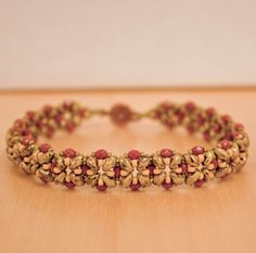 Dainty Bracelet - features super duos, 3mm fire polished rounds & seed beads.   Nice colors!!
