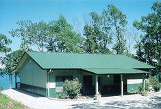 Metal and post frame buildings in Arkansas AMKO Buildings Myrick