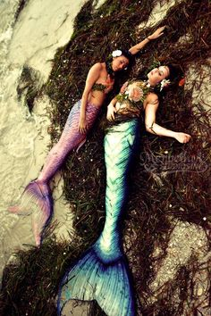 Washed Ashore by *MerBellas on deviantART