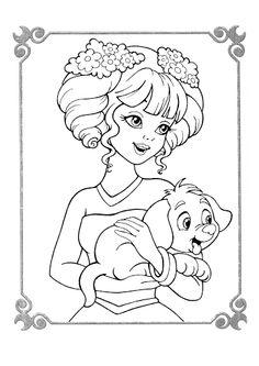 Zaubermalbuch Prinzessinen purple - Mama Mia - Picasa Albums Web