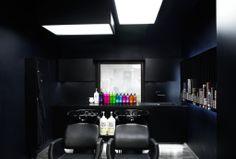 Interior design for a hair salon loveHM in Prague, design by MORPHE 2012