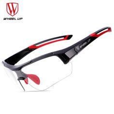 3e4ae7861f4 WHEEL UP Bicycle Goggles Cycling Glasses Discoloration Glasses MTB Road  Bike Sport Sunglasses Bike Eyewear Anti