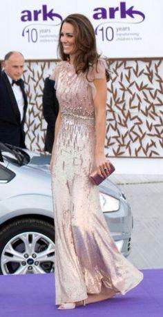 Kate Middleton rocking a Jenny Packham creation