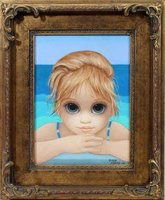 """The Little Surfer"" by Margaret Keane"