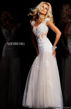 Cool lace mermaid prom dress 2017