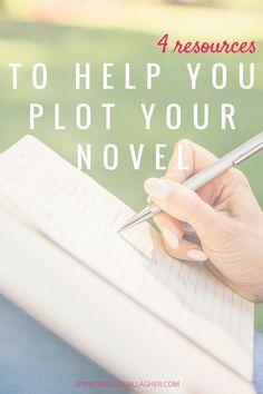 Plotting Resources - Plot Your NaNoWriMo Novel // www.bridgidgallagher.com