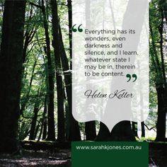 #inspiration #inspirationalquotes #helenkeller www.facebook.com/sarahkjonesintuitive
