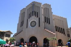 The National Shrine of Our Mother of Perpetual Help, also known as the Redemptorist church, popularly known as the Baclaran church is one of the largest Marian churches in the Philippines