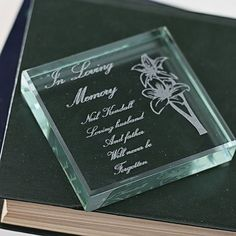 I Just Love It In Loving Memory Keepsake Glass Block In Loving Memory Keepsake Glass Block - Gift Details. This In Loving Memory square glass keepsake features flowers on the right-hand side and the words ?In loving Memory? in the top-left corner. The b http://www.MightGet.com/january-2017-11/i-just-love-it-in-loving-memory-keepsake-glass-block.asp