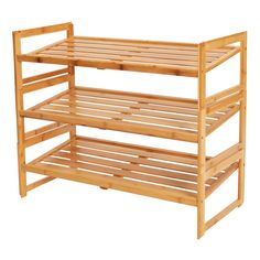 Better Homes & Gardens Bamboo 3 Shelf Shoe Rack 3 Shelf Shoe Rack, Best Shoe Rack, Diy Shoe Rack, Shoe Storage, Shoe Racks, Shoe Shelf Diy, Smart Storage, Storage Ideas, Shoe Rack Walmart