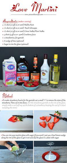 Love Martini Recipe by PictureTheRecipe.com (Part1)
